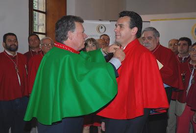 PABLO TITO, COMENDADOR DE HONOR DE LA ORDEN DE LA CUCHARA DE PALO