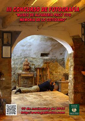 BASES III CONCURSO DE FOTOGRAFÍA «MUSEO DE ALFARERÍA PACO TITO MEMORIA DE LO COTIDIANO»