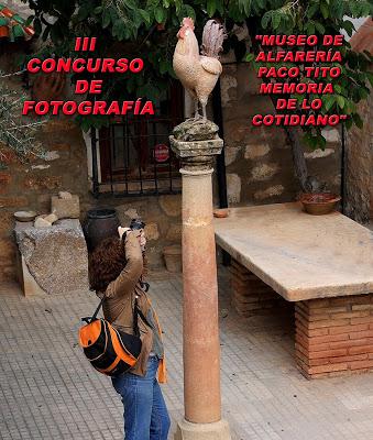 """FALLO DEL III CONCURSO DE FOTOGRAFÍA """"MUSEO DE ALFARERÍA PACO TITO"""""""