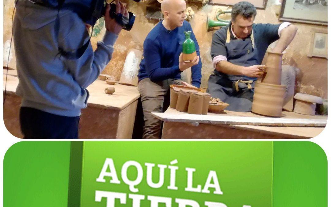 El Museo de Alfarería Paco Tito en el programa AQUÍ LA TIERRA de TVE