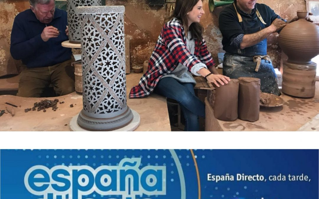 Pablo Tito en el programa ESPAÑA DIRECTO de TVE