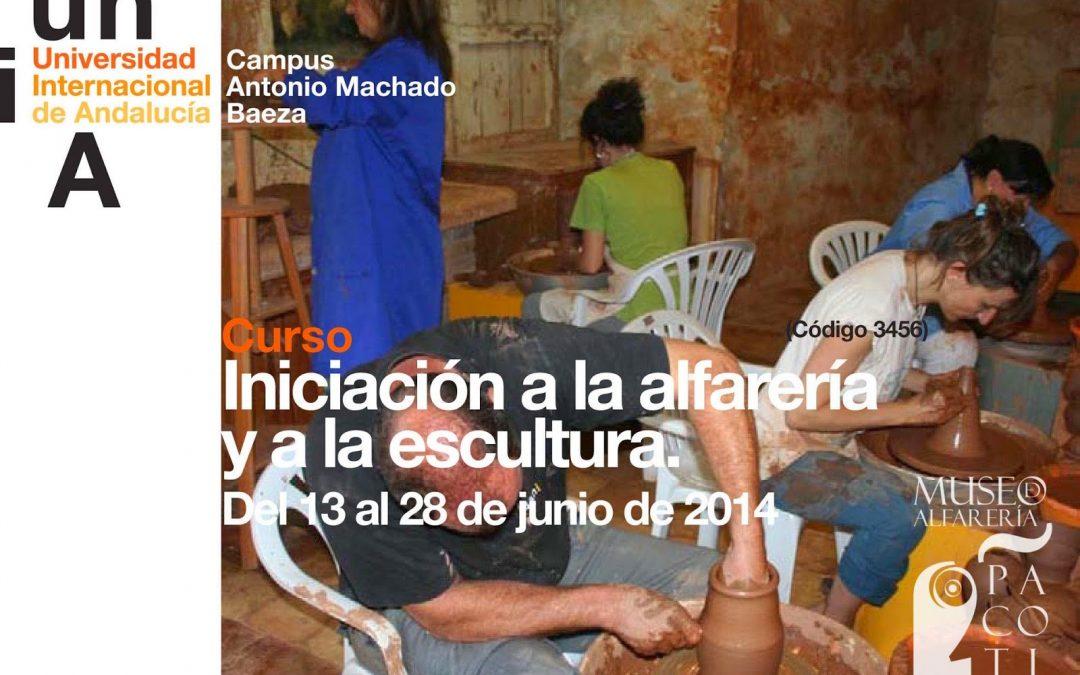 CURSO INICIACIÓN A LA ALFARERÍA Y A LA ESCULTURA 2014