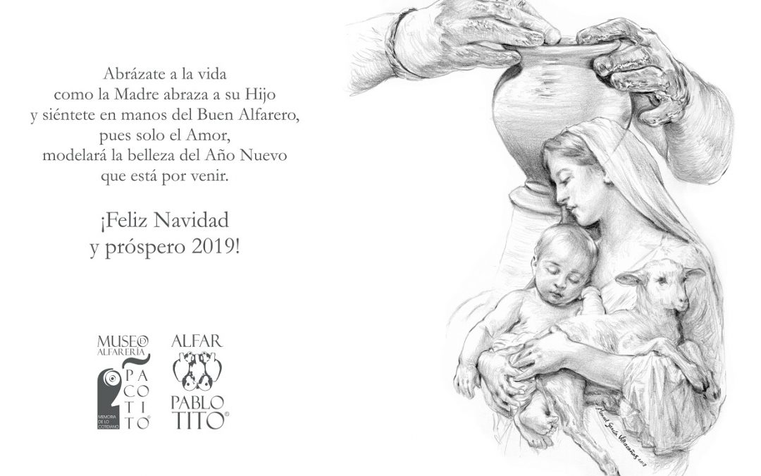Manuel García Villacañas ilustra la felicitación navideña de nuestro Museo