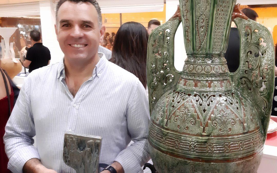 Pablo TITO recoge el Premio Internacional de Alfarería de La Rambla