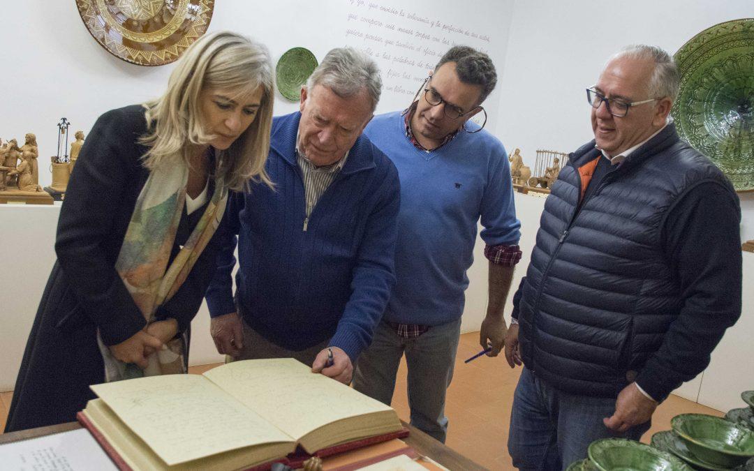 Visita de la Consejera de Cultura a nuestro Museo