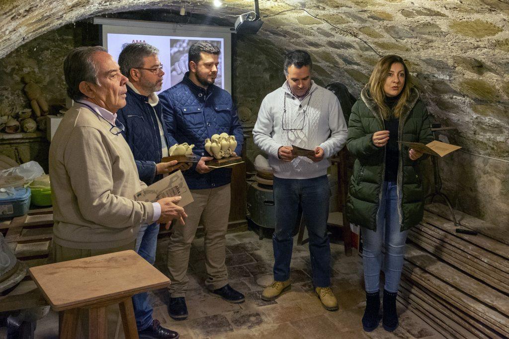 Presentación felicitación de Navidad del Museo Paco TITO.