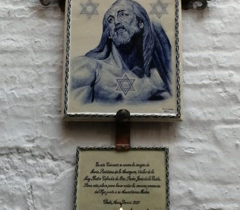 Inauguración del mural cerámico de Jesús Caído