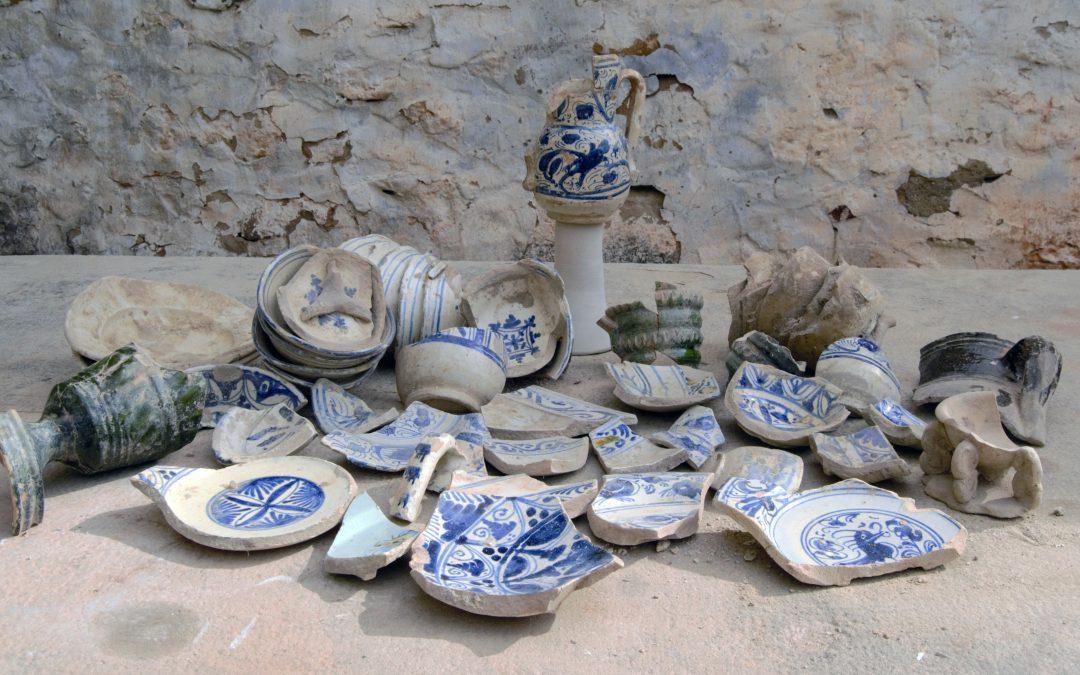 La cerámica azul de Úbeda