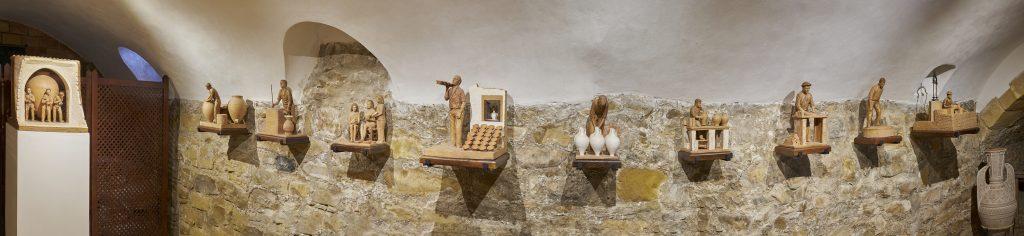 Vista panorámica del nuevo espacio expositivo del Museo de Alfarería