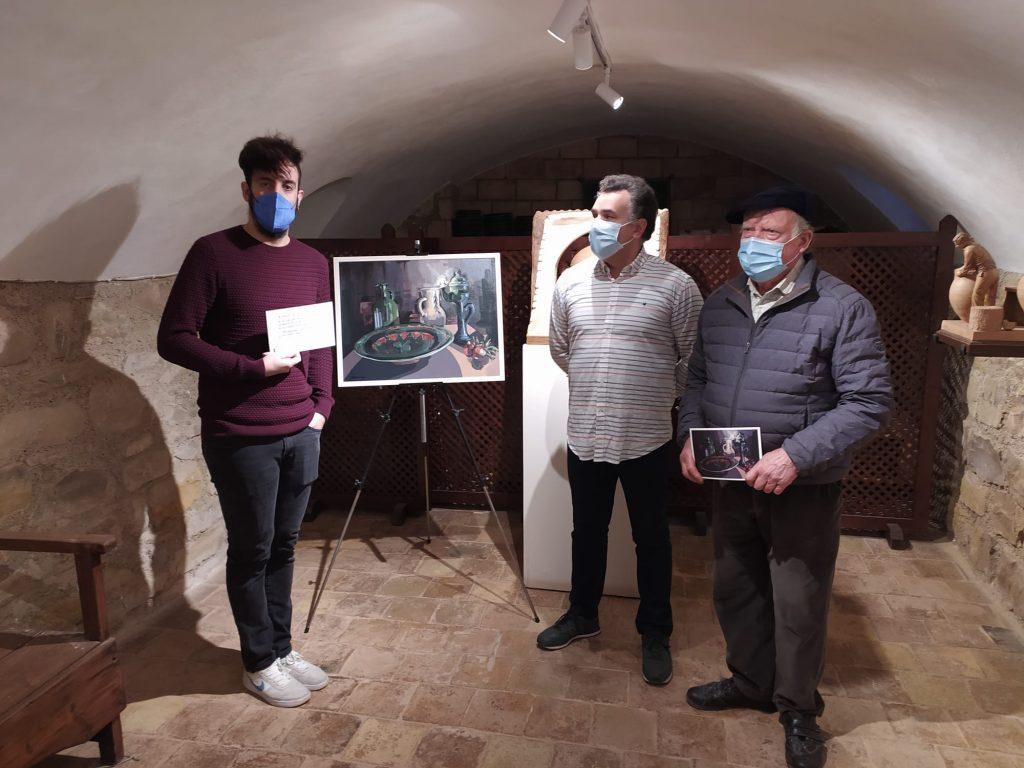 Pedro Líndez, autor de la obra junto a Pablo y Paco TITO