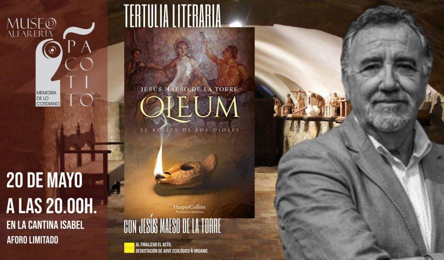 Tertulia literaria con Jesús Maeso