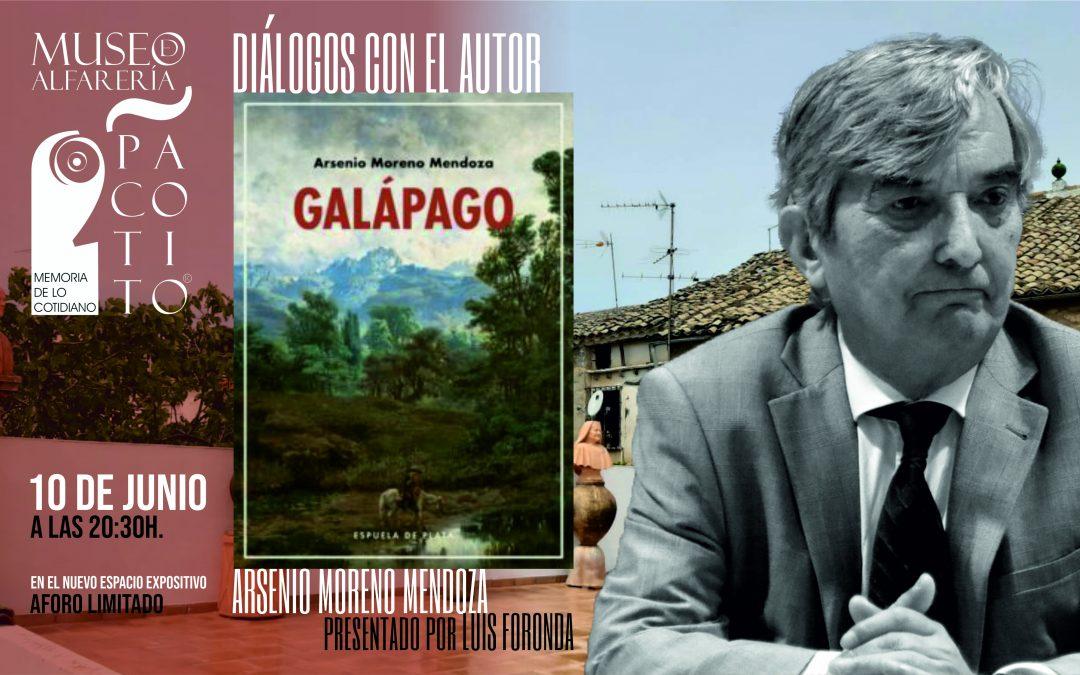 Diálogos con el autor: Arsenio Moreno