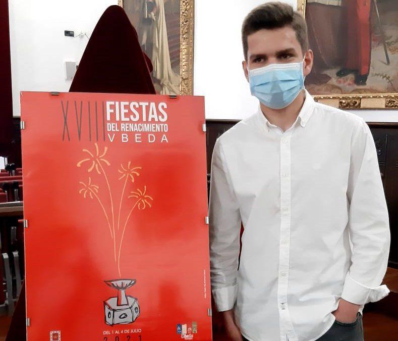TITO Martínez autor del cartel de las  XVIII Fiestas del Renacimiento