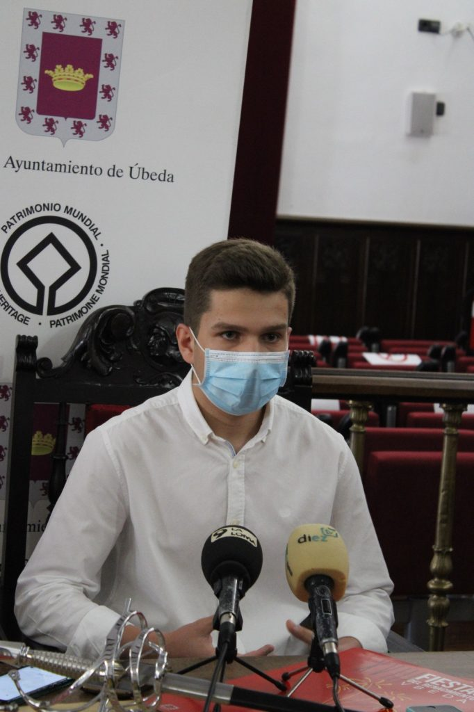 TITO Martínez durante la rueda de prensa
